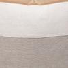 Regis Linen Aso Oke Luxe Vintage Pillow - 24 x 24 - Detail