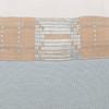 Sea Spray Lumbar Aqua Linen and Mud Cloth Pillow - 1427 - Detail