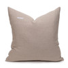 Celine Kyanite Linen Velvet Pillow - Back