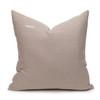 Celine Kyanite Linen Velvet Pillow - Back