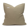 Simone PURE LINEN pillow Jade - back