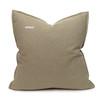 Simone PURE LINEN pillow Jade - back