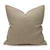 Simone PURE LINEN pillow Jade - front
