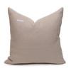 Celine Green Tourmaline Linen Velvet Pillow - Back