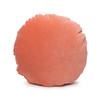 Ronde Coral Cotton Velvet Round Pillow - Front