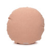 Ronde PURE LINEN Sahara Sand Round Pillow - Back