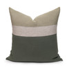 Jade Pure Linen Cooper 22 pillow - front