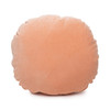 Ronde Rose Quartz Cotton Velvet Round Pillow - Front