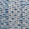 Indigo Sea Lumbar Pillow- 1622- Detail