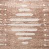 Ridge Mud Cloth Pillow in Taupe - 24- Detail