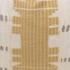 Alaia Lumbar Luxe Vintage Pillow with African Aso Oke Textiles- 1420- Detail
