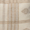 Park Handspun Indian Wool Ivory and Creme 24 inch Pillow - Details
