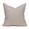 Akili Natural Linen and Aso Oke Pillow - 20- Back View