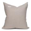 Beck Handspun Indian Wool in Mint & Tourmaline Velvet Pillow- 22- Back View