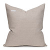 Ember Natural Linen and Aso Oke Pillow - 22- Back View