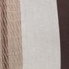 Ember Natural Linen and Aso Oke Lumbar Pillow - 14 x 36- Details