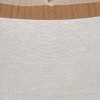 Fawn Natural Linen and Aso Oke Pillow - 22- Details