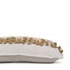 Julia Indian Sage Wool Tassel Lumbar Pillow - 1436- Side View