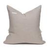 Morgan Handspun Indian Wool Sage Pillow- 20 x 20 - Back Pillow