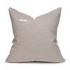 Morgan Handspun Indian Wool Velvet Mint Pillow- 20 x 20 - Back View