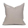 Saint Tourmaline Velvet pillow & Delphi linen- 20 x 20 -Back View