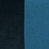 Saint Tourmaline Velvet pillow & Delphi linen- 20 x 20 - Details