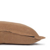 Simone PURE LINEN pillow Ginger- 22 x 22 - side view