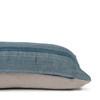 Trevor Handspun Indian Wool Delphi Lumbar Pillow- 18 x 26- Side view
