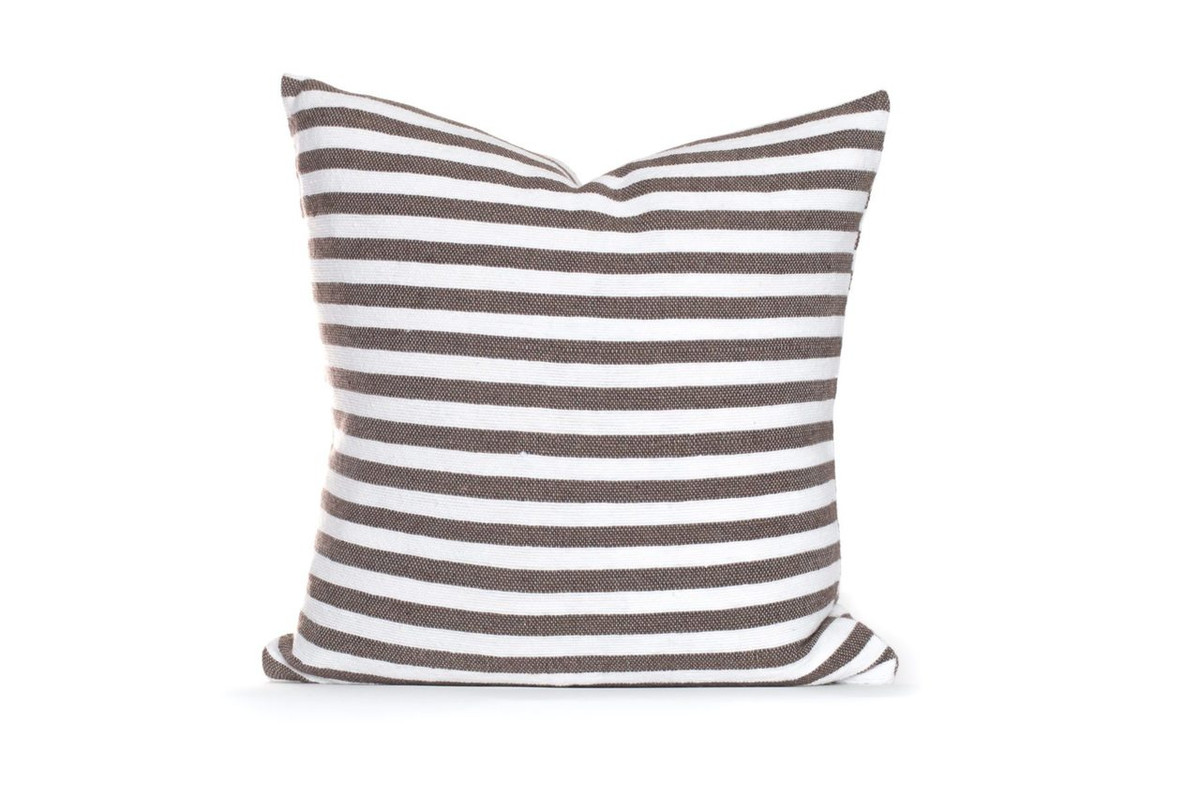 Cabana Pillow Dark Taupe
