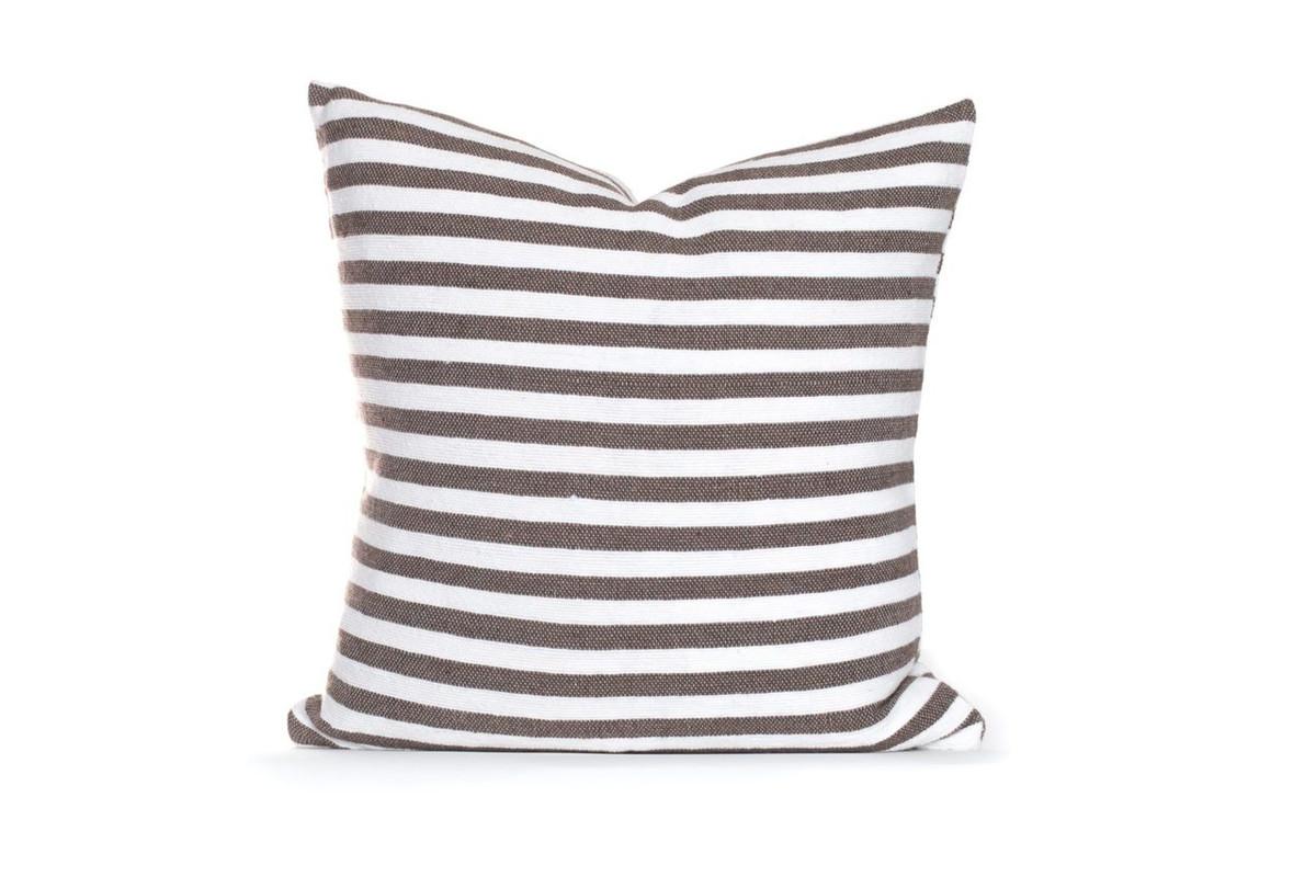 Cabana Pillow Dark Taupe