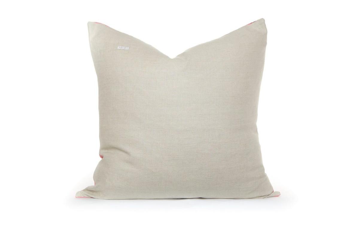 Linen Pillow Back 26