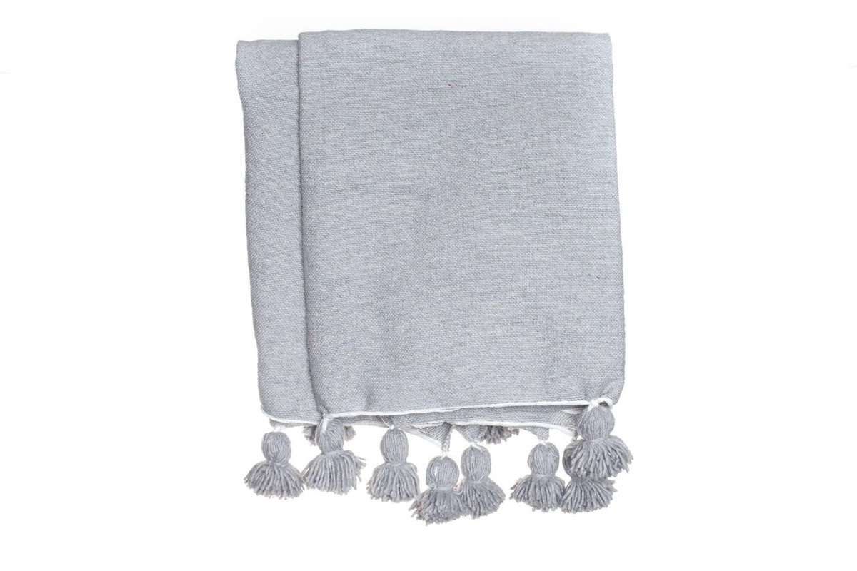 Frenchie Coverlet - Gris Claire