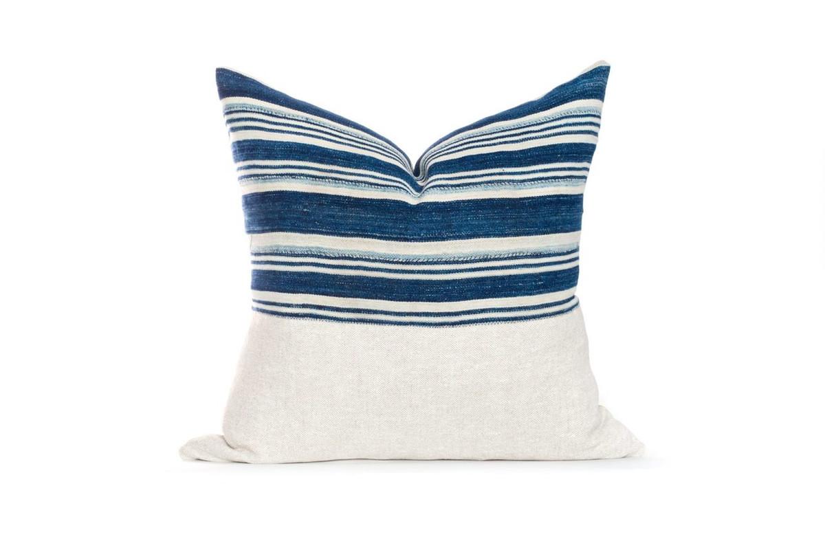 Indigo Pillow 22 - 0117