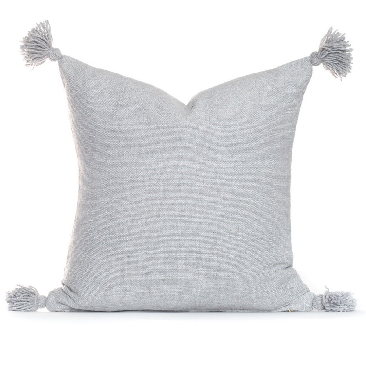 Frenchie Pillow - Gris Claire - Front