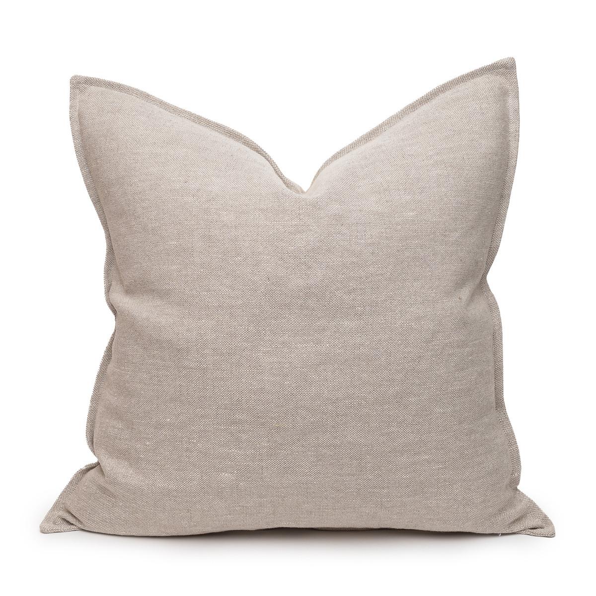 Simone PURE LINEN pillow Natural - front