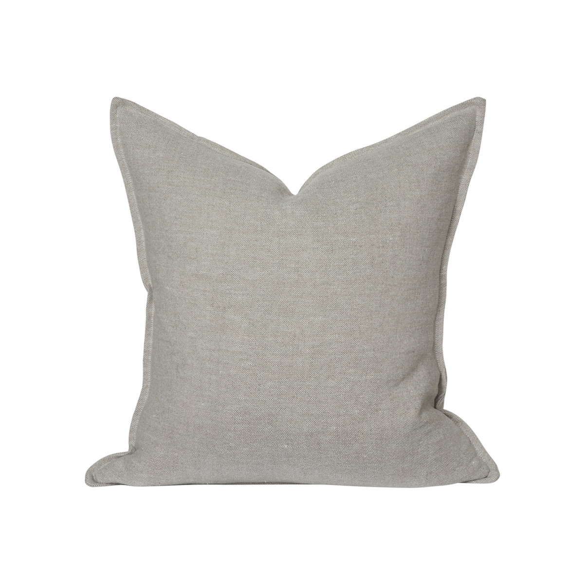 Simone Linen Pillow 22 - Natural