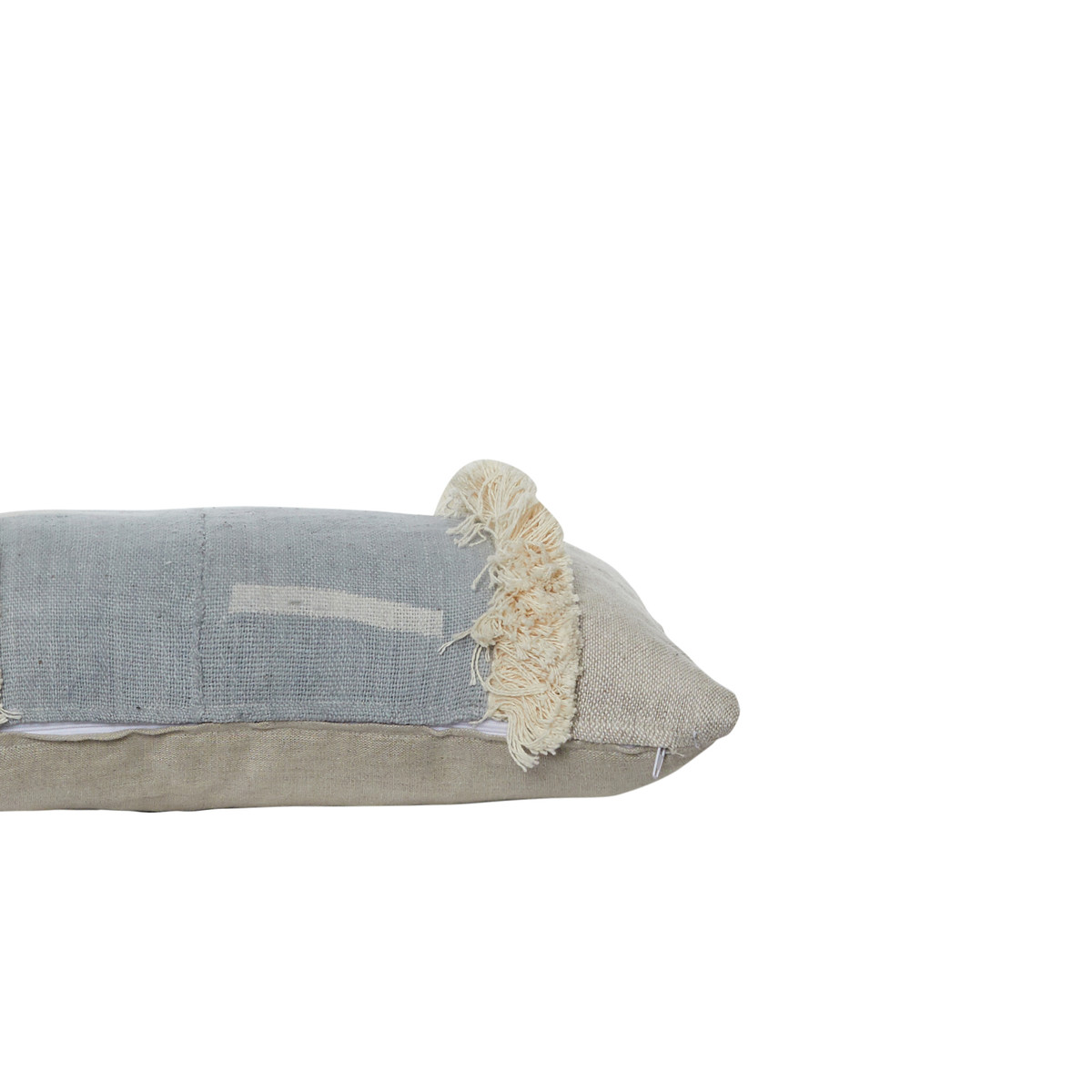 Marisa Mud Cloth Lumbar Pillow Side