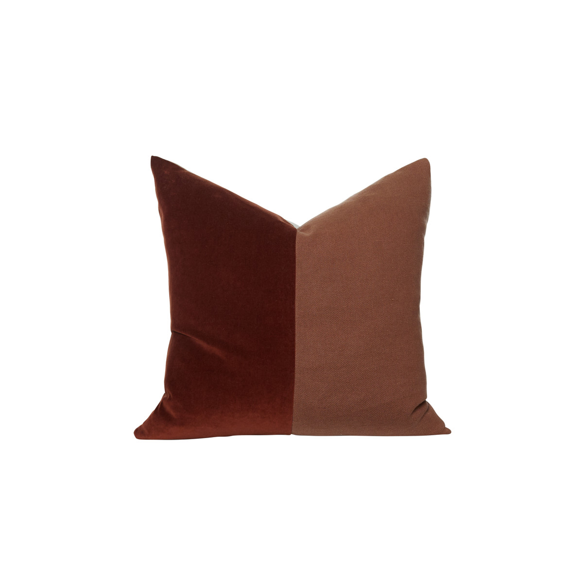 Saint Red Jasper Velvet Decorative Pillow - Front