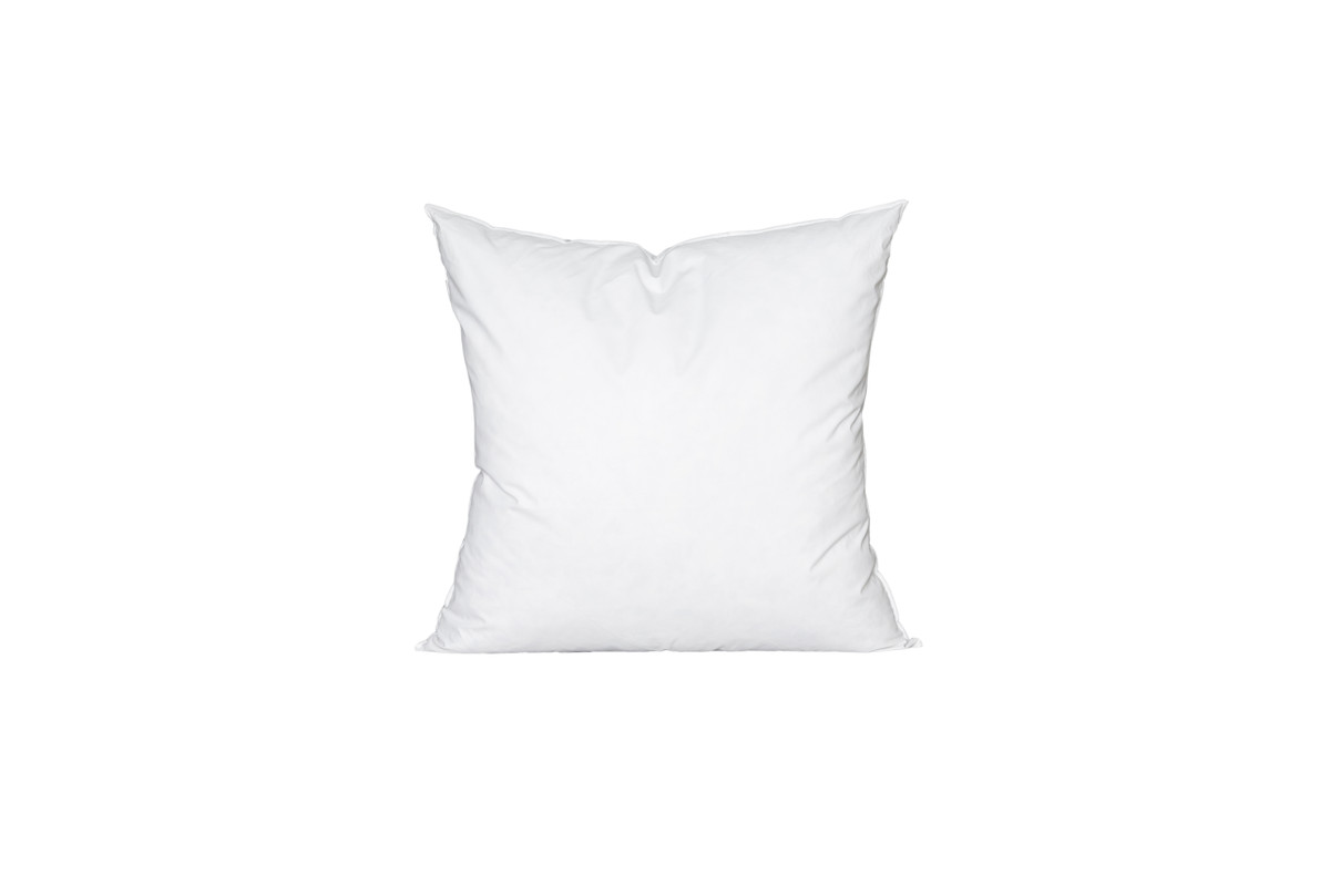 24 x 24 Square Feather Down Pillow Insert - Made in USA