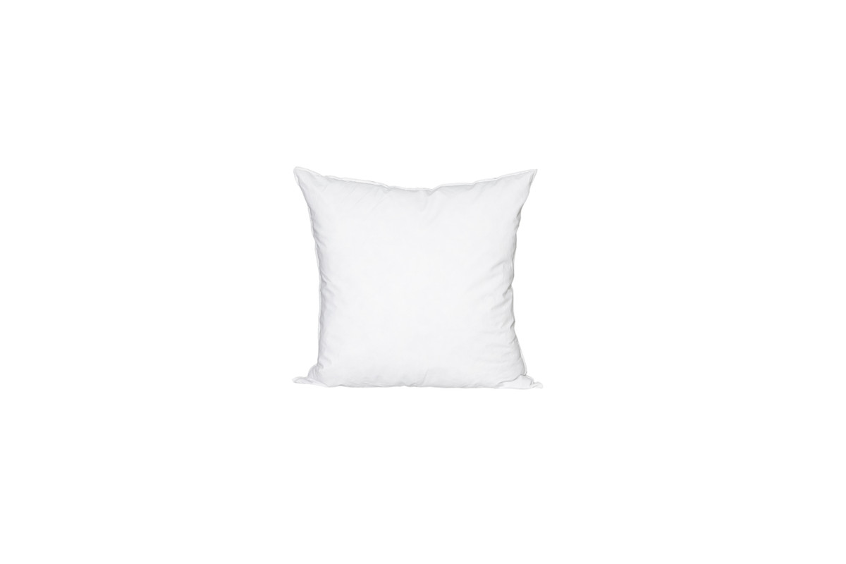 18 x 18 Square Feather Down Pillow Insert - Made in USA
