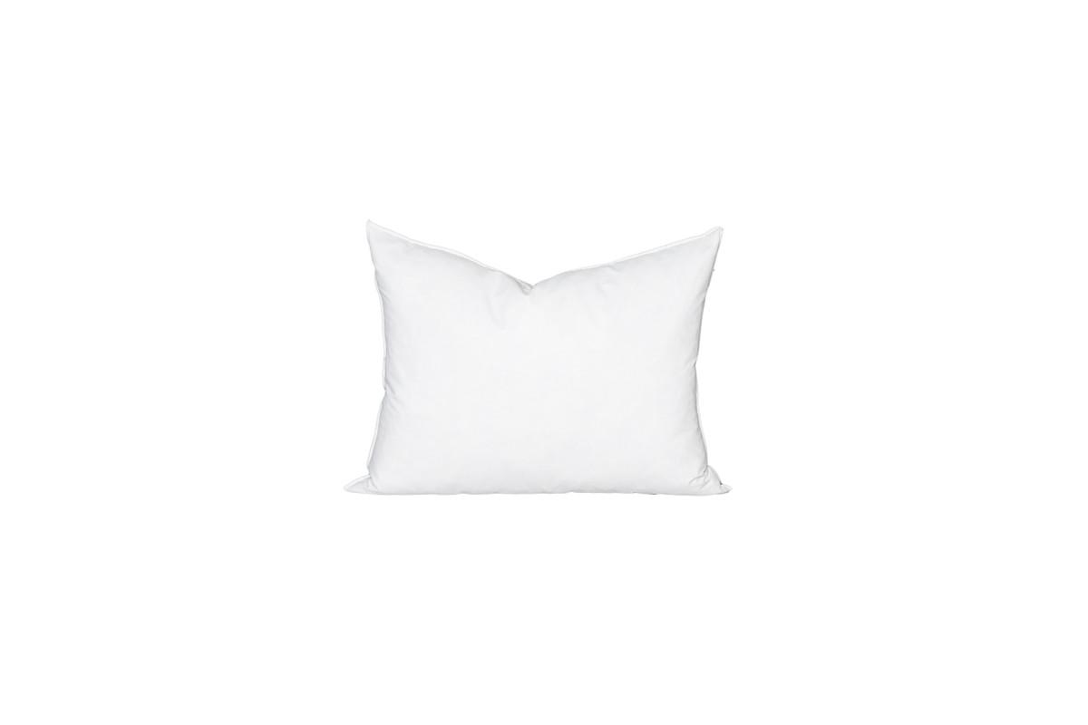 16 x 22 Lumbar Feather Down Pillow Insert - Made in USA