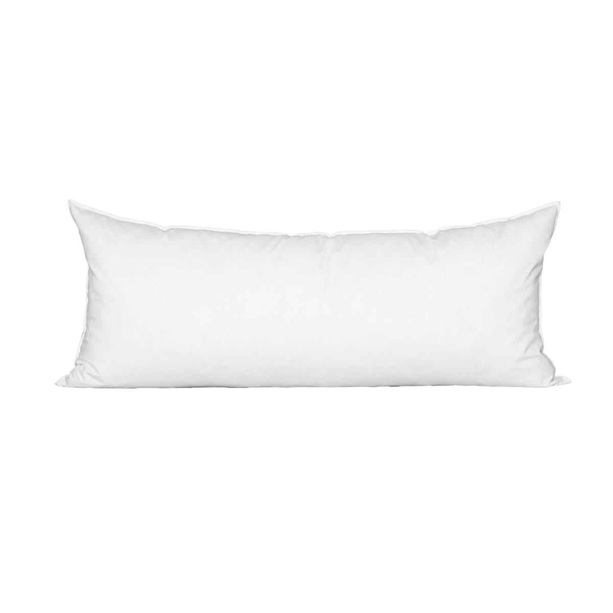 15 x 30 Lumbar Feather Down Pillow Insert - Made in USA