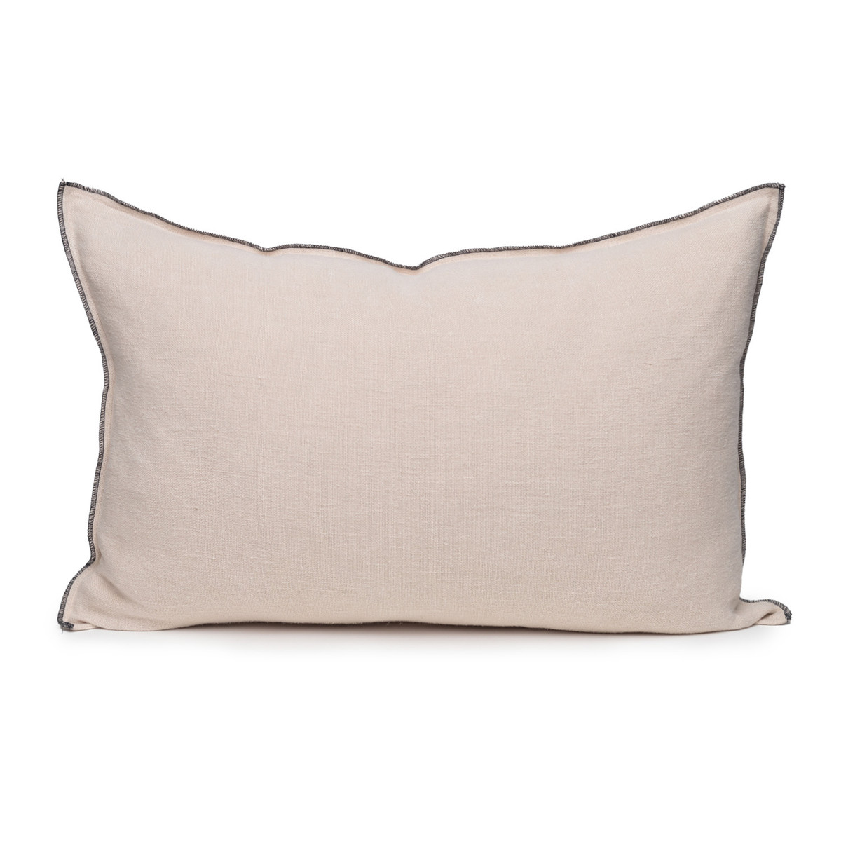 Santal Linen Pillow 1826 - Creme Brulee - Front View