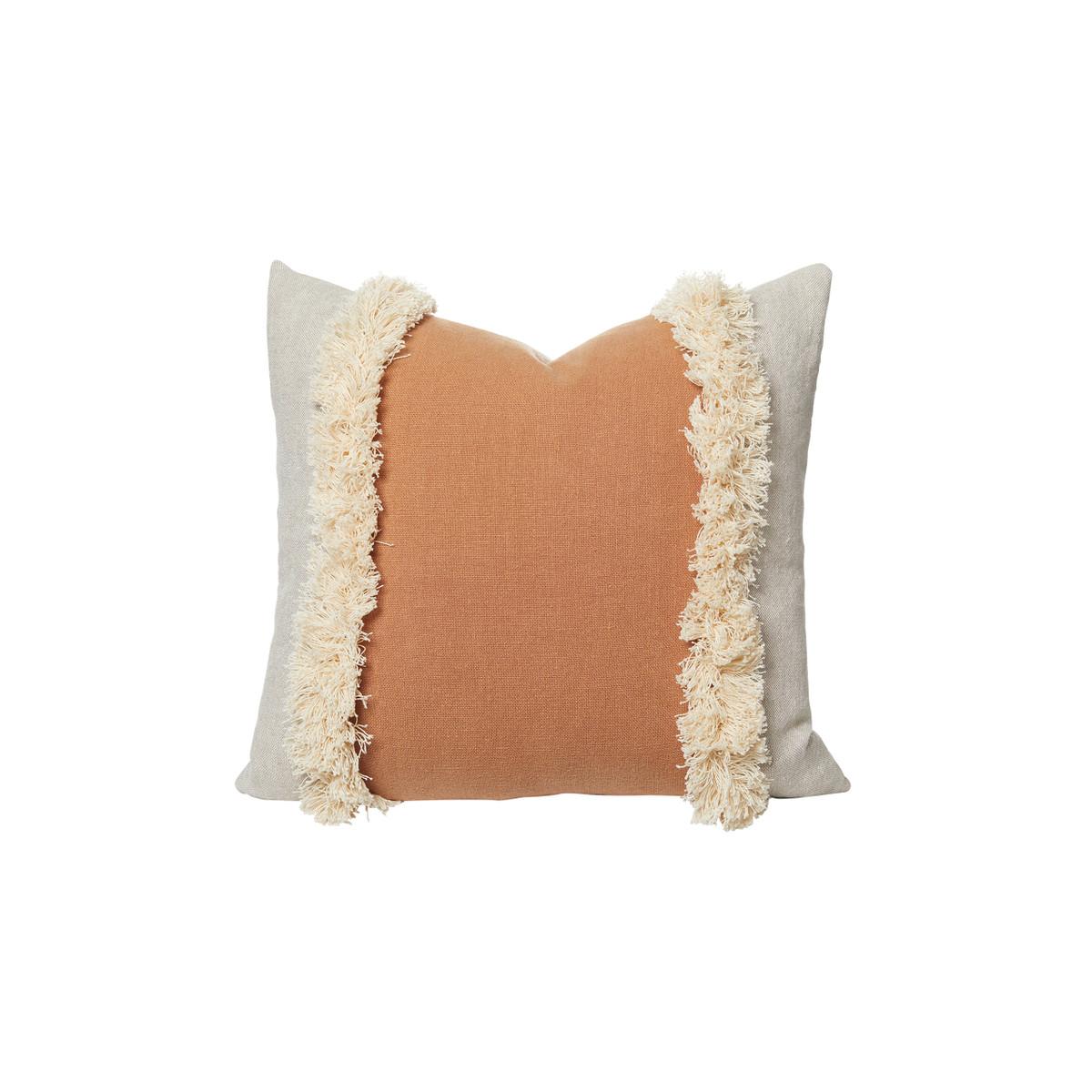 Muse Linen Pillow Sunstone - Front