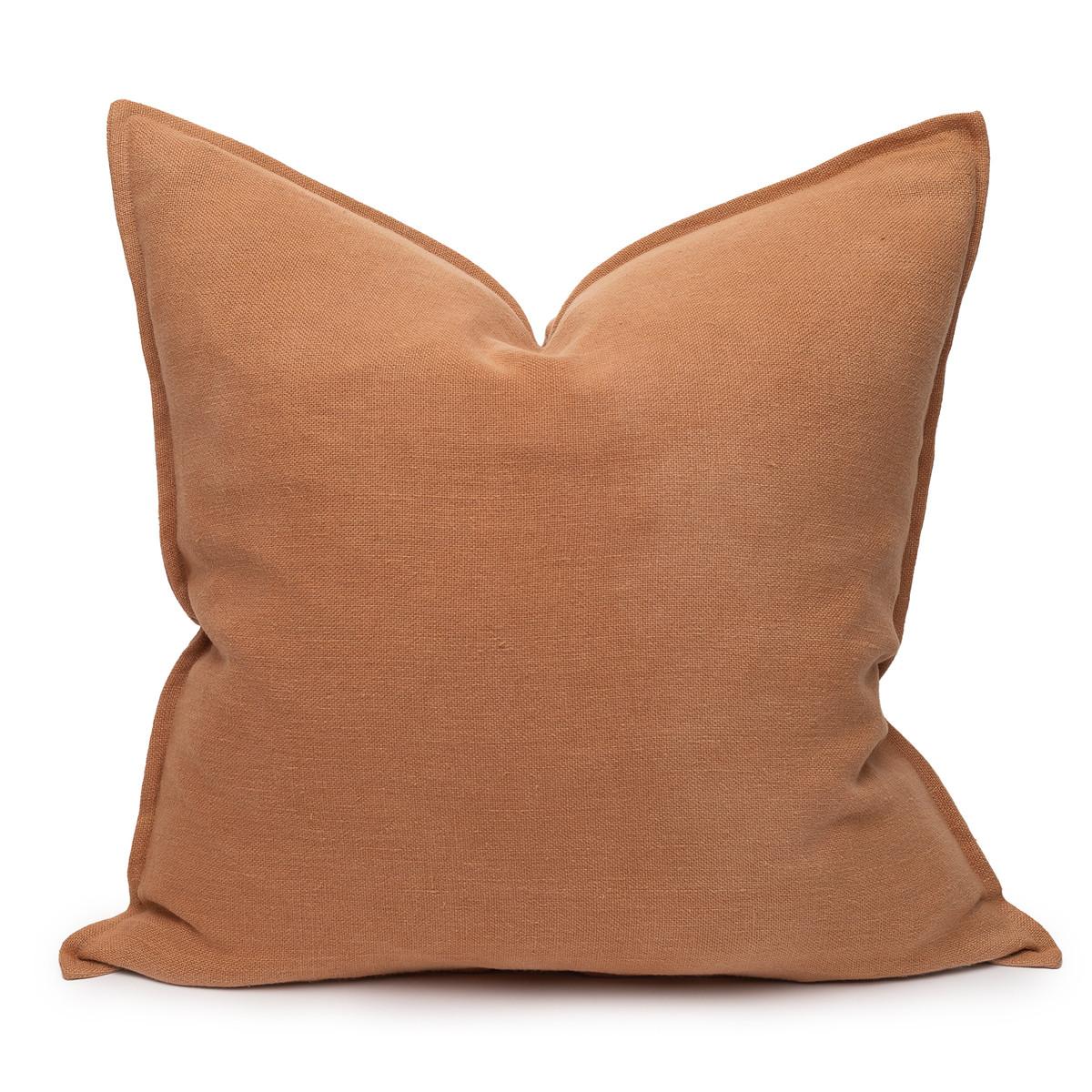 Simone PURE LINEN pillow Sunstone - front
