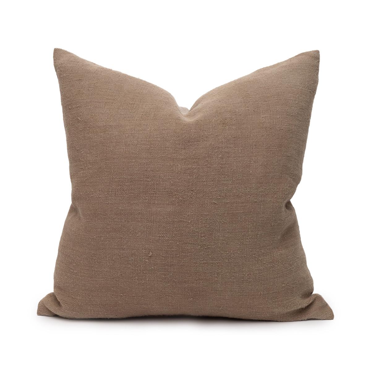 Hemp Stone Pillow - 20 - Front