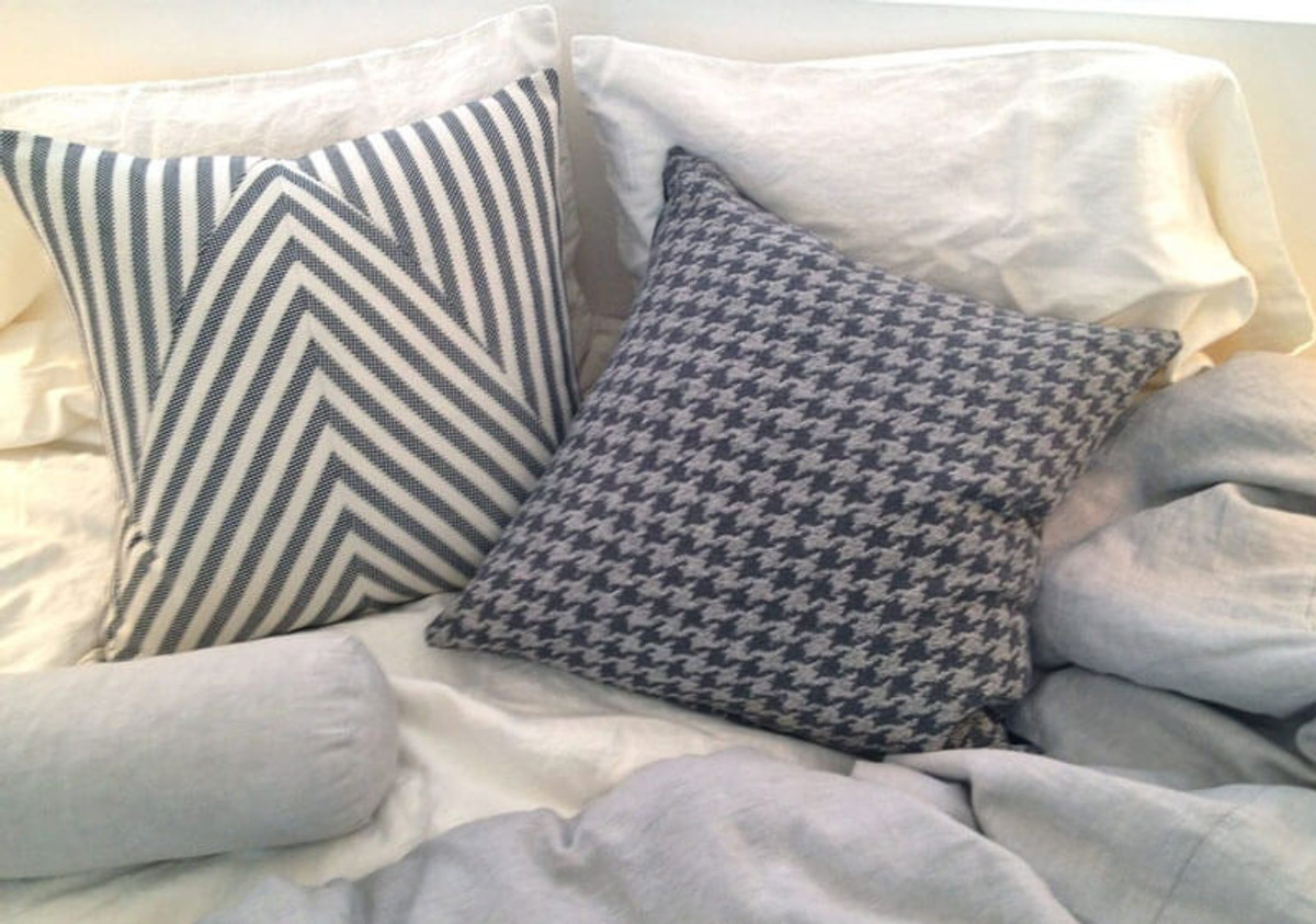 Introducting Mr. Sexy, Menswear Pillows