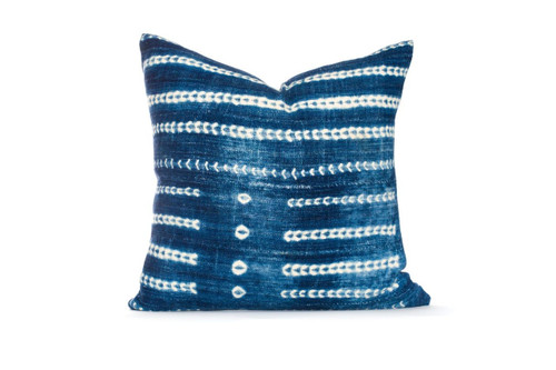 Indigo Pillow 22 - 0077