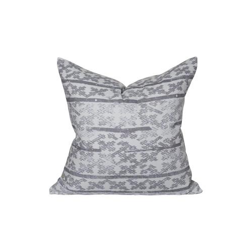 Talmage Pillow 22 - Pewter