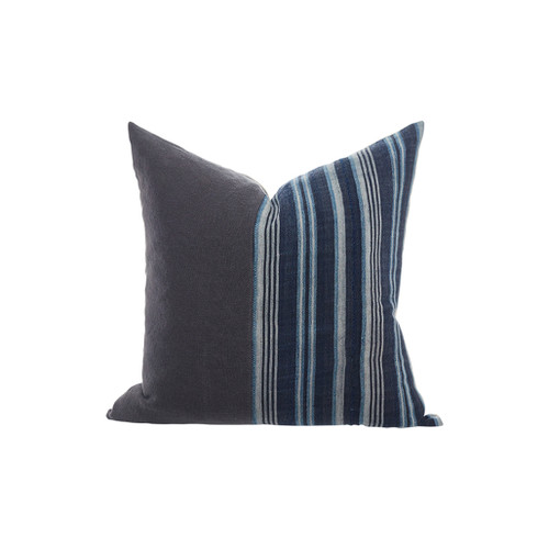 Indigo Pillow 22 - 12190 - front